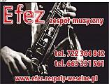 zespół muzyczny na wesela Efez, dj na wesela